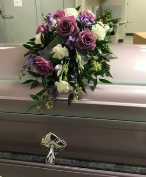 Casket Scarf For the Funeral in Turlock, CA | DEAN FLORAL