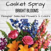 Casket Spray-Bright