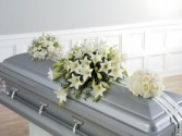 CASKET SPRAY CTT12-32 WHITE