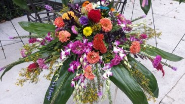 Casket Spray Custom Made Funeral Flowers