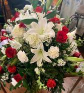 Casket Spray Funeral Arrangement 2