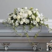 CS 2-Casket Spray of Mixed flowers Also available in other colors and sizes