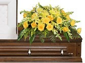 CS 15-Casket Spray of mixed flowers Also available in other colors and flowers