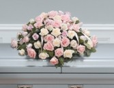 CASKET   SPRAY   ROSES