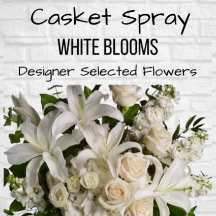Casket Spray-White