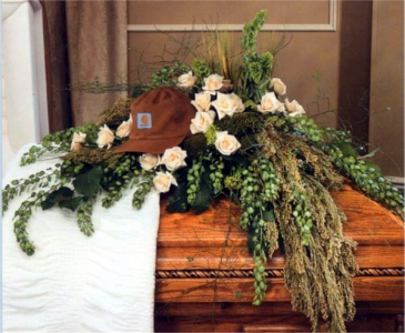 Casket Spray with Cap Casket Spray