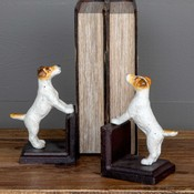 Cast Iron Dog Book Ends, Set of 2 Gifts