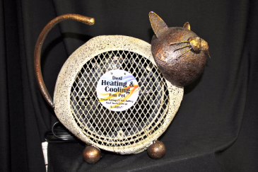 Cat heating and cooling Fan