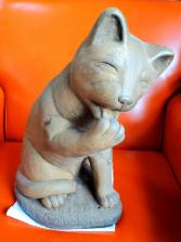 Cat Licking Paw Massarelli Fine Stone