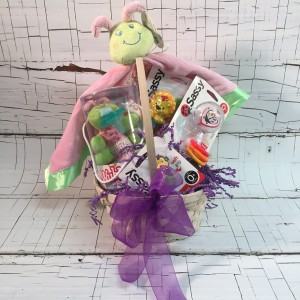 Caterpillar Baby Gift Basket Perfect New Baby Gift in Saint Louis, MO | Irene's Floral Design