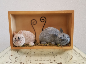 Cats in Shadowbox