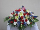 CC3 Patriotic Casket Cover