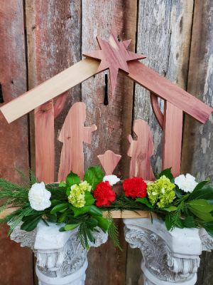 Cedar Nativity Gifts in Eupora, MS | SARA'S FLOWERS AND GIFTS