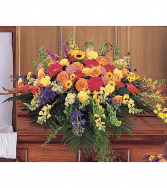 Cel of Life Cskt Spry One-Sided Floral Arrangement