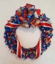 Celebrate America Service Wreath
