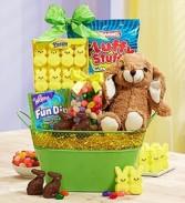 Celebrate Easter Basket Holiday Gift Basket
