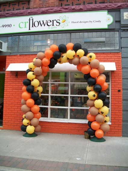 Celebrate Fall Arch Balloons