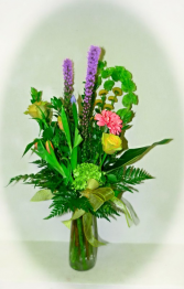 Mixed Garden Floral Arrangement