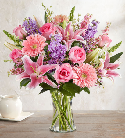 Celebrate in Pink Floral Arrangment