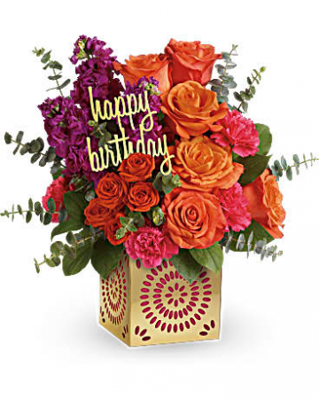 Celebrate in Style Birthday Bouquet
