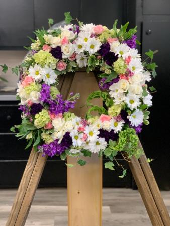 Celebrate Life  Wreath