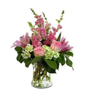 CELEBRATE LOVE Vase Arrangement in Longview, TX | ANN'S PETALS
