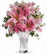 Celebrate Mom Bouquet All-Around Floral Arrangement