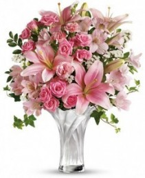 Celebrate Mom Bouquet Spring Arrangement