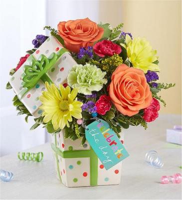 Celebrate the Day Bouquet Arrangement