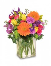 Celebrate Today! Bouquet in Clio, Michigan | WILLOW COTTAGE FLOWERS AND GIFTS