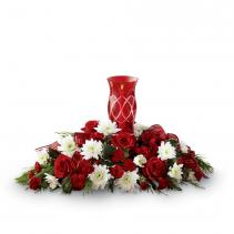 Celebrate the Season Centerpiece - Exquisite Holiday Centerpiece