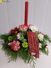 X-Mas-Celebrate the Season Small Table Centerpiece