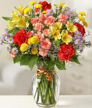 Celebrate Today Mixed Vase Arrangement  in Elyria, OH | PUFFER'S FLORAL SHOPPE, INC.
