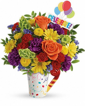 Celebrate You Bouquet in Jasper, Texas | BOBBIE'S BOKAY FLORIST