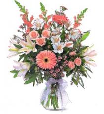 Celebrating Baby Girl floral arrangement