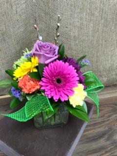Celebrating spring  Cube vase