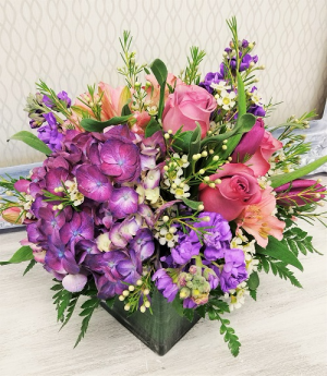 Celebrating You  Cube Vase Design in Winter Springs, FL | WINTER SPRINGS FLORIST AND GIFTS