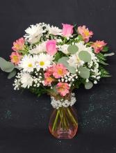 Celebrating You!  FHF-M01 (Local Delivery Only) Fresh Floral Vase Arrangement