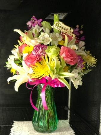 Celebration  Anniversary Bouquet