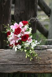 CELEBRATION CASCADING BOUQUET