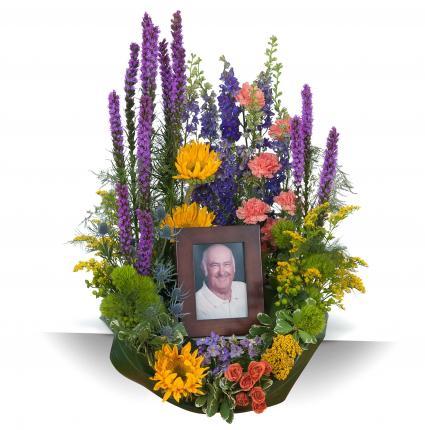Celebration Garden Memorial  Arrangement