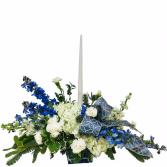 Celebration in Blue Centerpiece