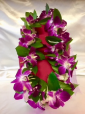 Celebration Leis Orchid Fresh Beauty