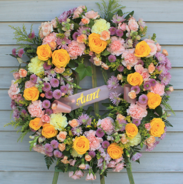 Celebration of Life - Feminine Garden Wreath