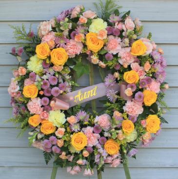 Celebration of Life - Feminine Garden Wreath