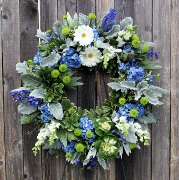 Celebration of Life - Masculine Garden Wreath