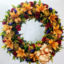 Celebration of Life Standing Wreath