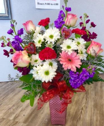 Celebration of Love  Vase