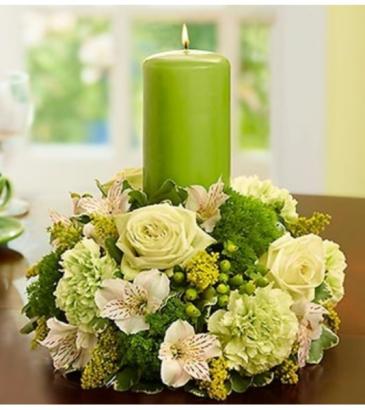 Celebration Pillar Candle Centerpiece