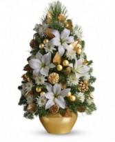 Celebration Tree Holiday Floral Decoration